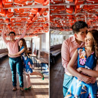 Toronto photographer captures cute Asian couples from Hong Kong Toronto pre-wedding portraits.