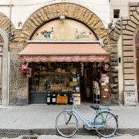 cute florentine shop florence italy