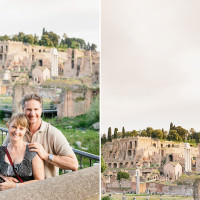 destination anniversary couples photos Rome, ITaly