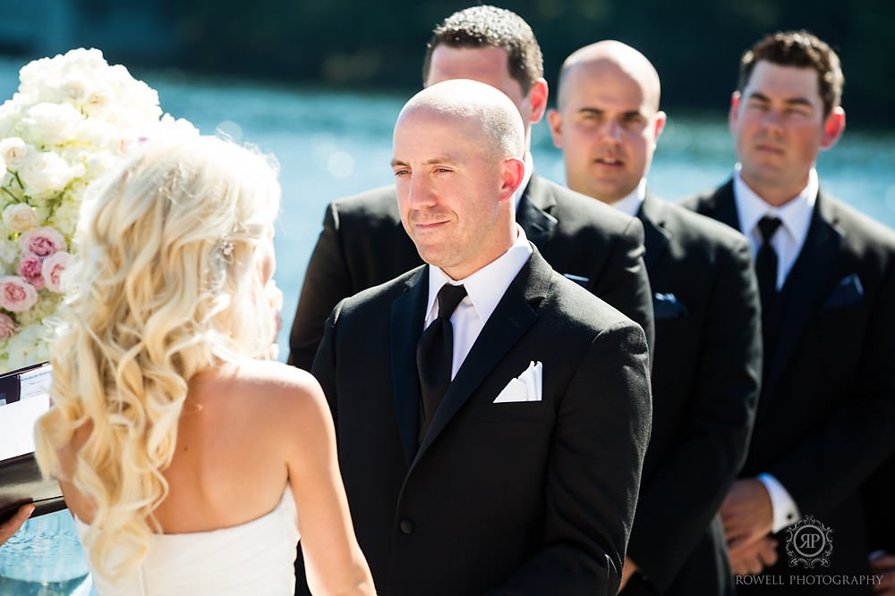 dock weddings in muskoka Wedding at Rocky Crest Resort