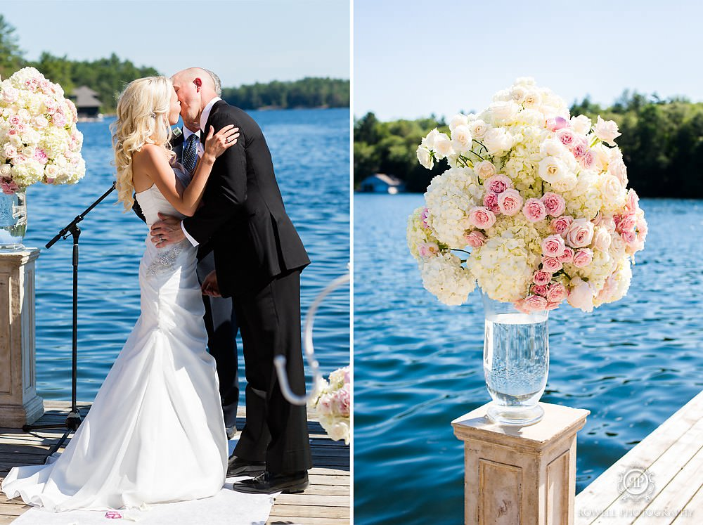 lakeside wedding at rocky crest resort muskoka Wedding at Rocky Crest Resort