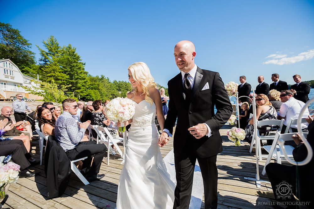 muskoka canada wedding photographers Wedding at Rocky Crest Resort