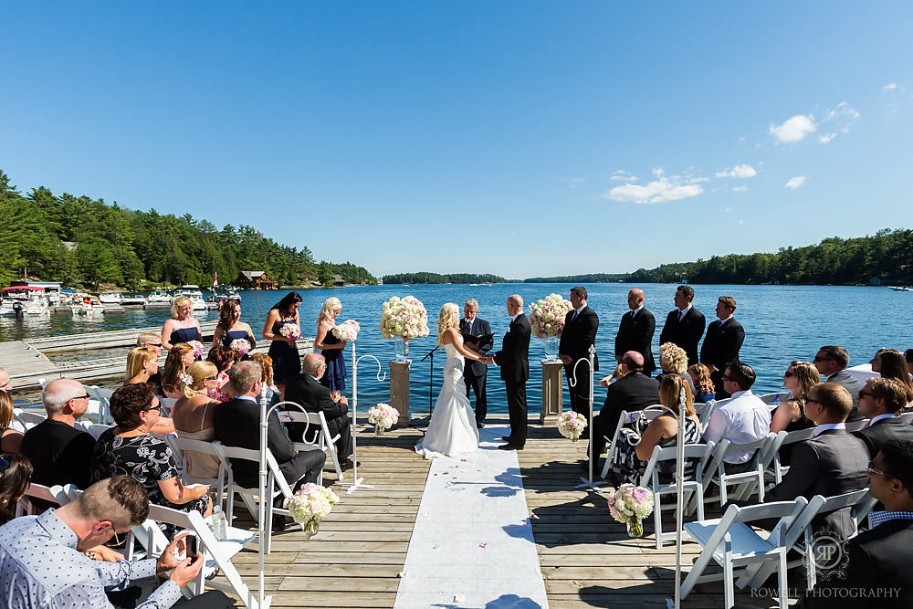 muskoka canada wedding photography Wedding at Rocky Crest Resort