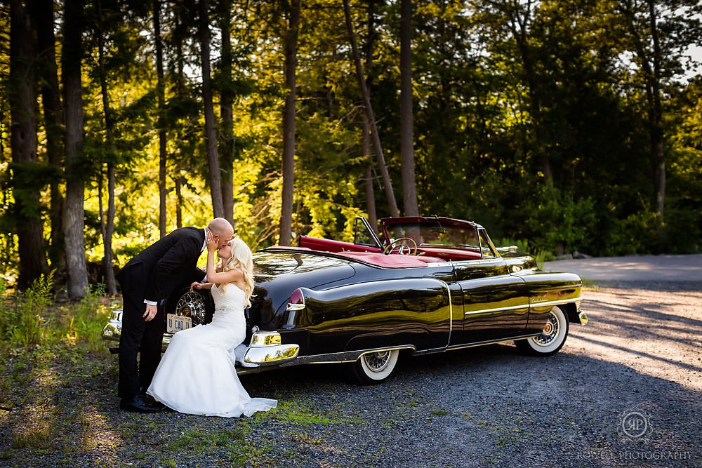 muskoka wedding day photography