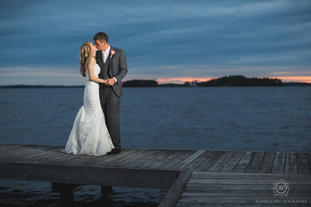 night time photos from muskoka wedding Taboo Resort Wedding   Muskoka, Canada