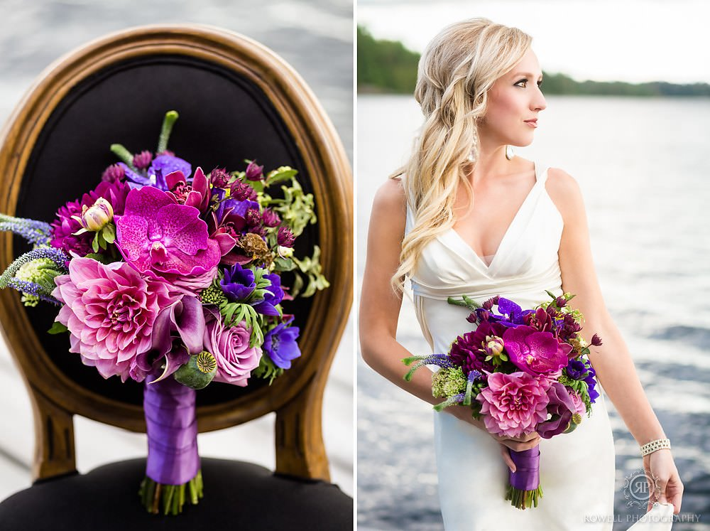rachel clingen bouquet in muskoka Muskoka for Inspiration