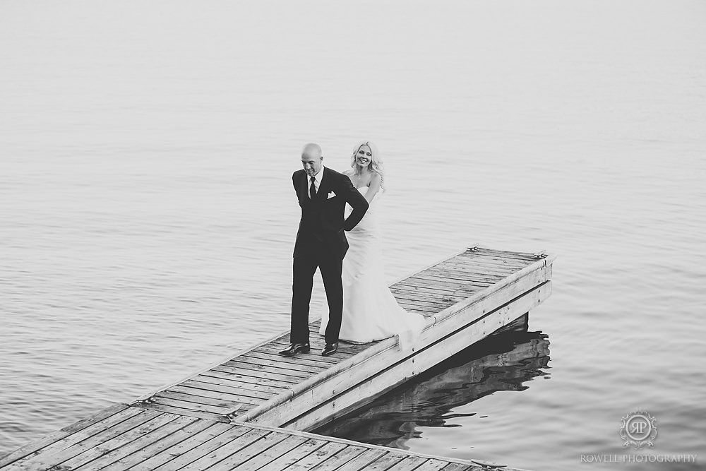 romantic muskoka weddig moments Wedding at Rocky Crest Resort