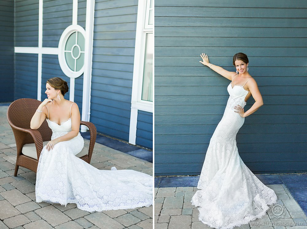 beautiful bridal portraits at Muskoka wedding1 The Rosseau Muskoka JW Marriott Resort & Spa Wedding