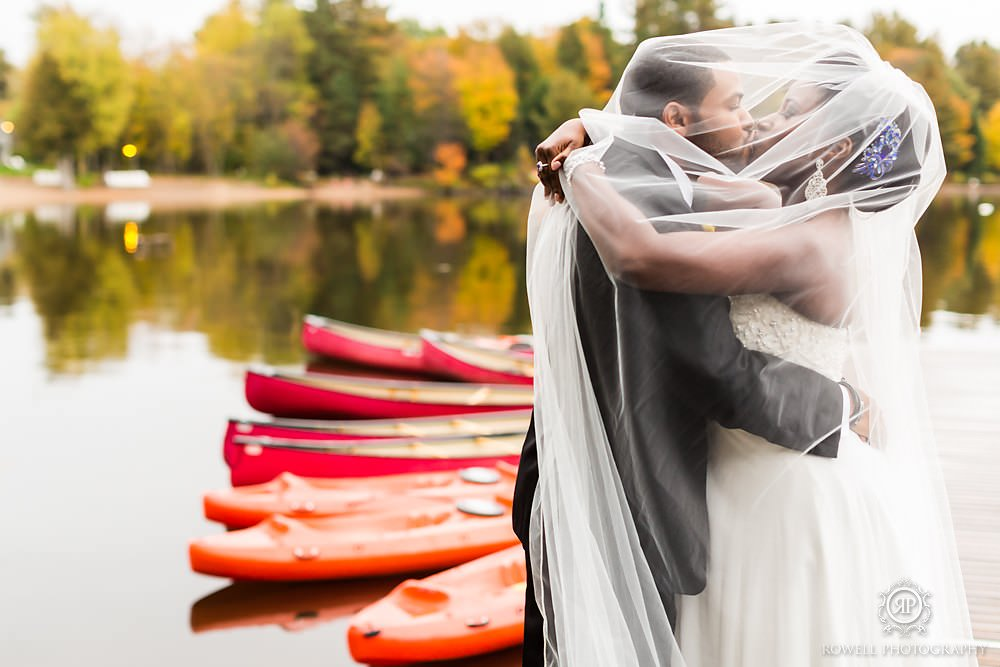 wedding by the lake muskoka Taboo Resort Golf & Spa   Muskoka
