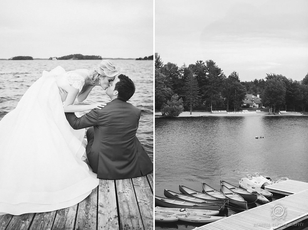 lake muskoka wedding canada Muskoka Wedding at Taboo Resort