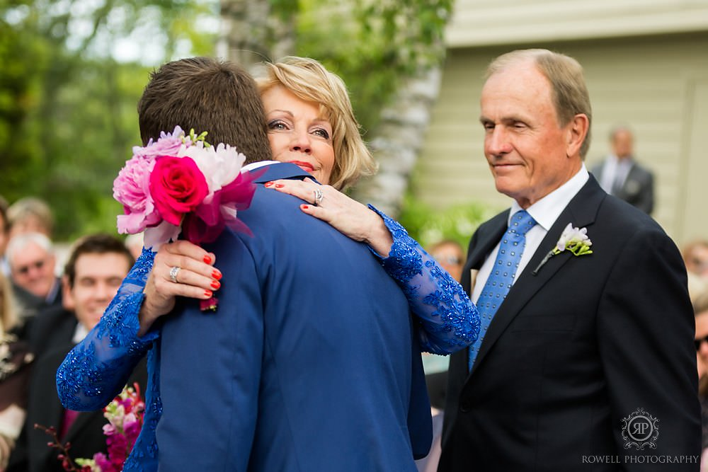 mother of the groom emotional moment