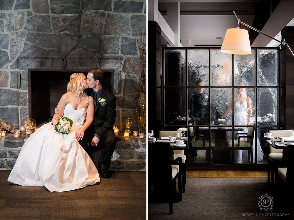taboo resort muskoka winter weddings Taboo Resort Muskoka   Winter Elopement