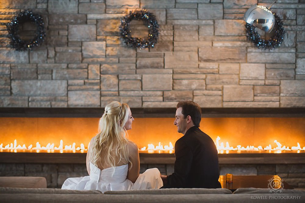 taboo resort weddings Taboo Resort Muskoka   Winter Elopement