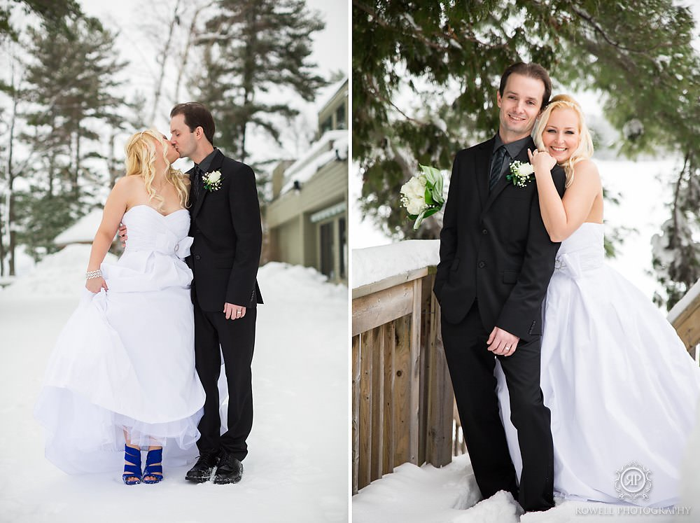 winter wedding muskoka Taboo Resort Muskoka   Winter Elopement