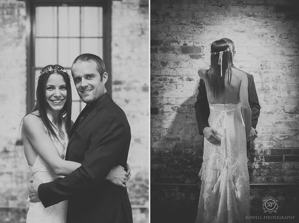 black and white couples portraits toronto wedding Arta & Archeo Wedding   Toronto