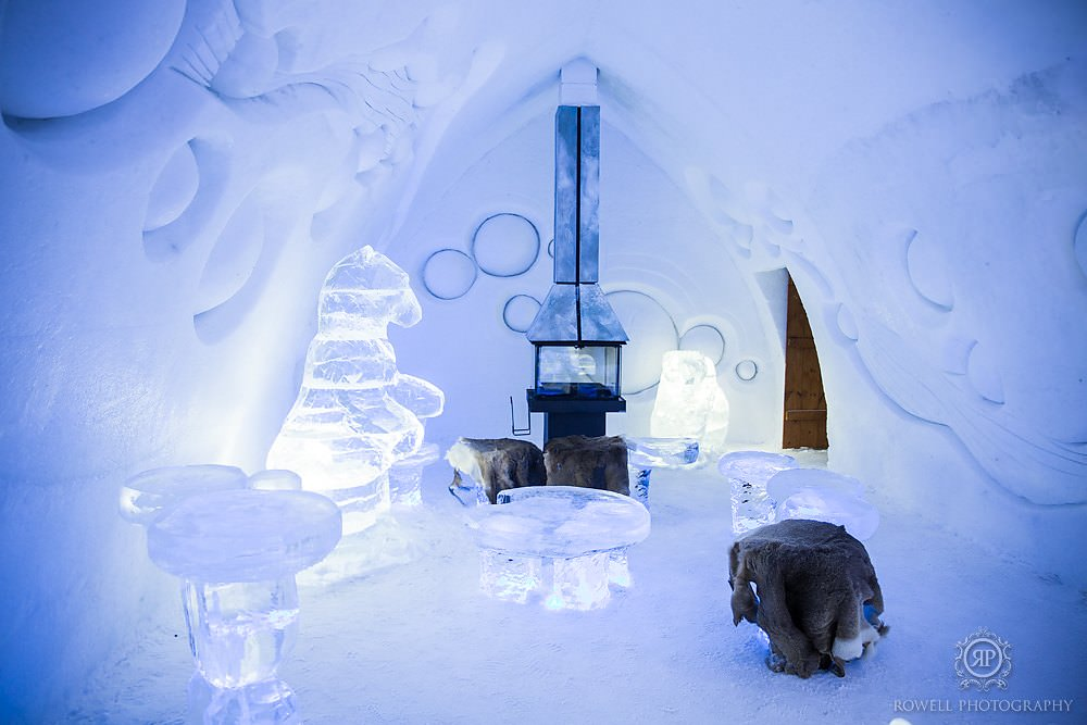 Hotel De Glace Quebec City Rowell Photography Wedding