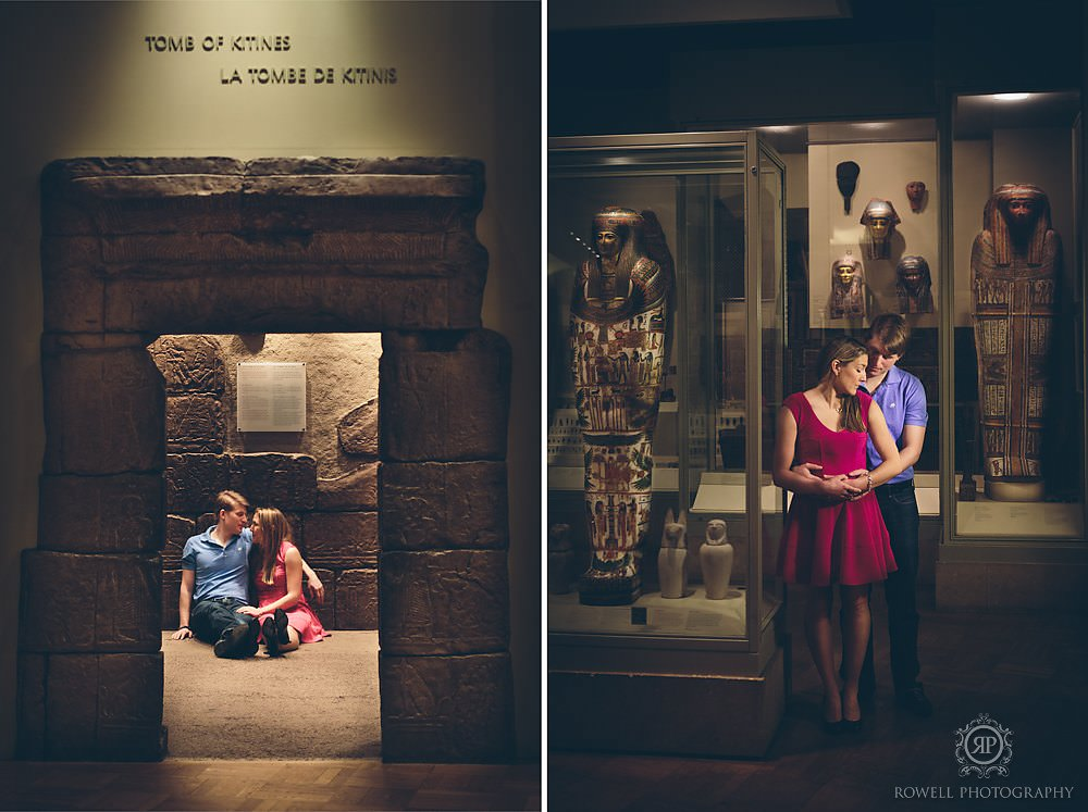 ROM engagement photo session