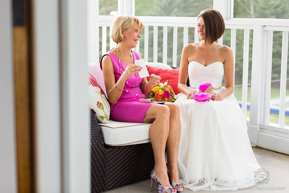 candid wedding moments at windermere house Summer wedding at Windermere House, Muskoka