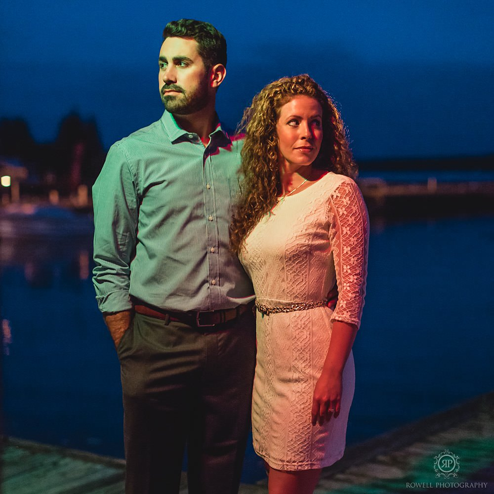 downtown barrie ontario engagement photography