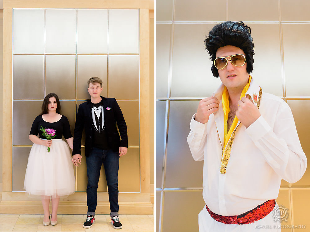 fun elvis wedding niagara falls canada