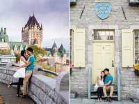 best quebec city tdestination pre-wedding photo