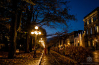 night time couples photography quebec city