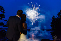 Muskoka Wedding Windermere House fireworks photos4