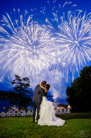 Muskoka Wedding Windermere House fireworks photos5