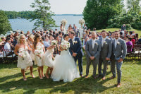 Muskoka Wedding Windermere House outdoor ceremony10