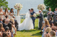 Muskoka Wedding Windermere House outdoor ceremony3