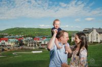 Mont Tremblant vacation family photos Quebec Canada20