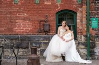 Toronto Wedding Balzac's Distillery District27