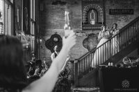 Toronto Wedding Balzacs Distillery District46